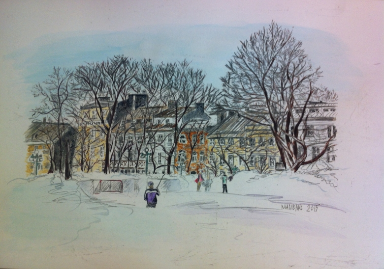 01--Quebec Winter painting copy